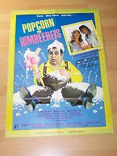 POPCORN UND HIMBEEREIS - Kinoplakat A1 ´78 (A) - OLIVIA PASCAL Bea Fiedler