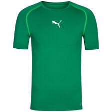 Puma Funktionsshirt maschile TB S/s Maglietta 654613 Power Green (verde) XXL