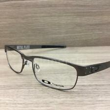 Oakley Metal Plate Eyeglasses Brushed Chrome OX5038-0655 Authentic 55mm