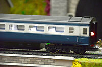 Standard Coach Cool White Lighting Strips - OO gauge - Train Tech CL1