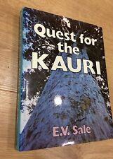 E V Sale QUEST FOR THE KAURI hardback 1st ed 1995 Reed w/photos