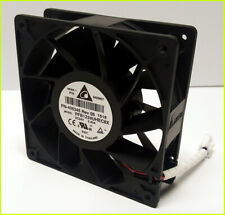 DELTA 24V DC 2.4A Fan | PFB1224UHE -C8X | 120mm x 38mm | Axial Cooling | 5500rpm