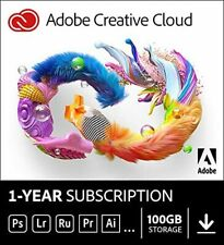 Adobe Creative Cloud All Apps 100GB | 1 Year | Digital Code | Global Activation