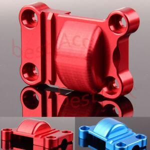Aluminum Rear Gear Cover For RC Cat Traxxas X-Maxx (RED/BLUE) 1/5 77076 TXM038M