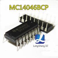 5PCS Motorola MC14046BCP Ic Chip new