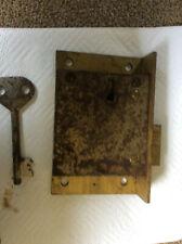 GPO-British-London-chubb-Royal Mail  Lock