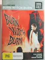 Burn Witch Burn (Region 4 DVD) BRAND NEW & SEALED, Free Next Day Post from NSW
