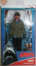 """Quint Jaws (1975 Movie) 8"""" inch Clothed Action Figure Neca Mint 2021"""