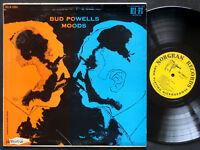 BUD POWELLS Moods LP NORGRAN MG N-1064 US 1955 DG MONO DSM JAZZ Art Taylor CLEAN