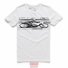 ALPINESTARS BAND TEE CUSTOM T-SHIRT NEU GR:XXL WHITE ALPINESTARS ASTARS