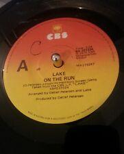 "Lake  – On The Run CBS – BA 222334 Australian Press 7"" Single Plays VG+"