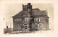 C85/ Pipestone Minnesota Mn Real Photo RPPC Postcard c1910 High School Building