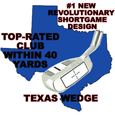 CHIPPER HYBRID IRON WOOD CHIPPING PUTTER SAND PITCHING ALIGNMENT TEXAS WEDGE