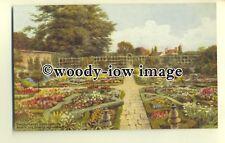 ar0306 - Lovely Shakespeare's Knot Garden *2574. Artist - A R Quinton - Postcard