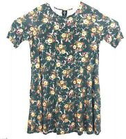 Agnes And Dora Women's Swing Tunic Top Floral Pockets Size XL