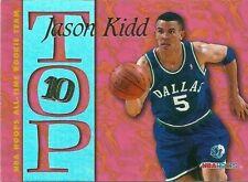 Jason Kidd 1994-95 Season Basketball Trading Cards