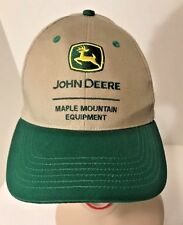 NEW John Deere Maple Mountain Equipment Dealer Baseball Cap Washington PA NWT