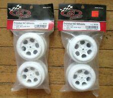 A7124 Team Losi 2.2 Rear Disc Wheels XX White