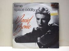 """DAVID BOWIE-45- """" SPACE ODDITY-FAME""""--RCA 1975 --ITALY PRESS"""