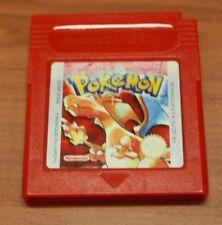jeu Nintendo Game Boy POKEMON  ROUGE