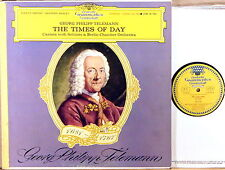 DGG RED STEREO TULIP Telemann TIMES OF DAY Koch ALLE HERSTELLER SLPM 138 785 NM