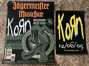 2 Korn Promo Posters 2005 & 2010