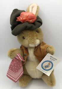 Vintage EDEN BENJAMIN PETER RABBIT Plush Beatrix Potter Bunny Collectible