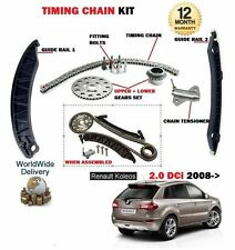 FOR RENAULT KOLEOS 2.0 DCI DIESEL 1995cc 2008--> TIMING CAM CHAIN KIT WITH GEARS