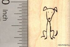 Stick Figure of Dog Rubber Stamp Part of our Stick Figure Family A17419 WM