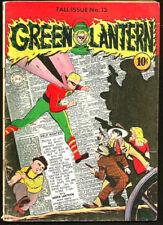 GREEN LANTERN #13 Golden Age Comic Book DC Comics 1944 --1st series & print