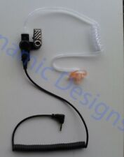 3.5 mm Listen Receive Only Ear Piece Headset with Right Ear Mold