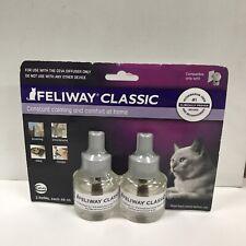 New Feliway Classic Cat Diffuser Refills - (3037) Exp 3/2021