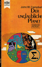 John W. Campbell, Der unglaubliche Planet, Science Fiction Roman, Heyne SF 1971