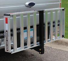 "Tricam UltraLight Folding Aluminum Receiver Hitch Cargo Carrier 50"" x 20"""