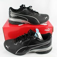 Puma Tazon 6 FM Mens Athletic Shoes Black Silver New In Box ~ Choose Size