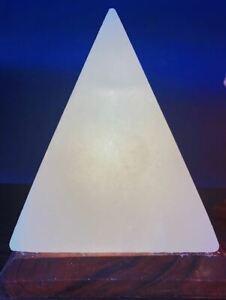 White Himalayan Salt Pyramid
