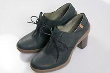 El Naturalista Women's Lichen Nf70 Oxford Boots 6UK Black