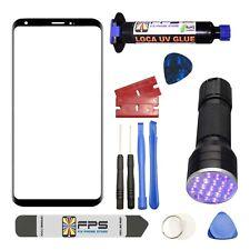 For LG V30 H930 Black Repair Outer Front Screen 5ml UV LOCA + UV LIGHT
