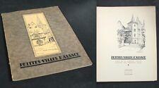 PETITES VILLES d'ALSACE / Comtesse Tolstoï et Géraldine Major / 1932
