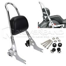 PU Detachable Passenger Sissy Bar & Backrest Pad For Harley Sportster 1200 883