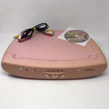 Disney Princess Pink 2005 DVD Player DVD2050P - TESTED - Read Description