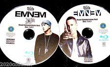 EMINEM D12 Visual Demonstration Reel 2 BLU-RAY DVD Set 70 Music Videos FREE SHIP