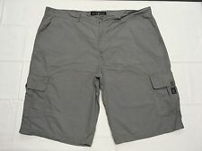 ENYCE GRAY CARGO SHORTS BIG AND TALL HAND MEASURED SIZE 49W Tag 50 BEST SH662mu