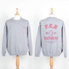Sudadera Para Hombre de Colección Adidas equipo Bayern Munich Munchen Suéter años 90 ondulados XXL