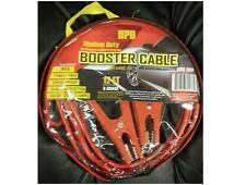 New Heavy Duty Car Battery Booster Jumper Cable 300-amp 12-Feet 8-Guage W/Pouch