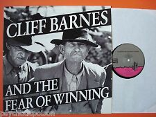 Cliff Barnes & the fear of winning the record that took 300 million years... LP