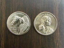 2012 ~ P&D Mint   Sacagawea Native American Dollars <> Mint State BU Condition