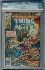 MARVEL TWO-IN-ONE PRES. THING & MAN-THING #43 CGC 9.6 NM+ WP MARVEL COMIC 1978