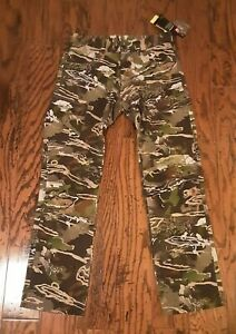 Under Armour Storm Hunting Early Season Kit Forest Camo Pants Mens CHOOSE SIZE