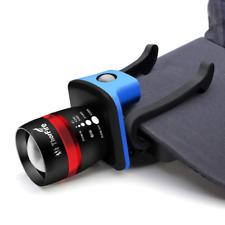 Thorfire LED Cap Light Headlamp 3 Modes Ball Hat Lamp Flashlight Zoomable